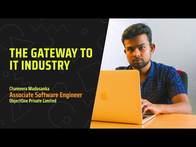 How to become a software engineer? Chameera said