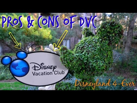Disneyland Vacation Tips - Pros & Cons of Disney Vacation Club