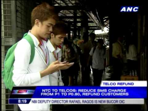 Telcos told: Reduce SMS charge, refund customers