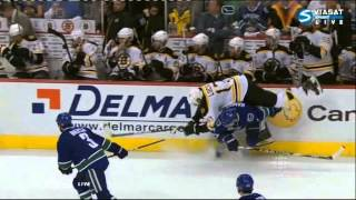 Lucic gets Destroyed! thumbnail