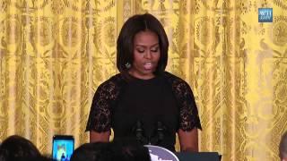 Michelle Obama Celebrates Nowruz- Persian New Year - At White House