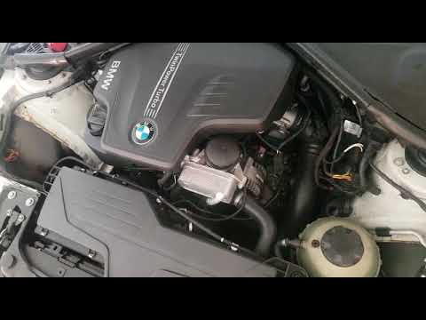 BMW F30 328i N20 timing chain whine noise issue
