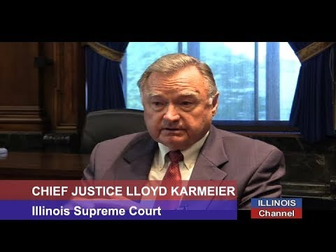 Illinois Supreme Court Chief Justice Lloyd Karmeier