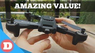 Eachine EG16 WINGGOD Reveiw - Amazing Value Drone 2019!