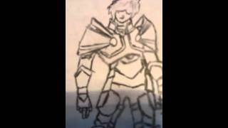 How to draw artix from aqw