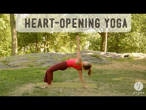 Heart-opening Yoga Routine: True Color (open level)
