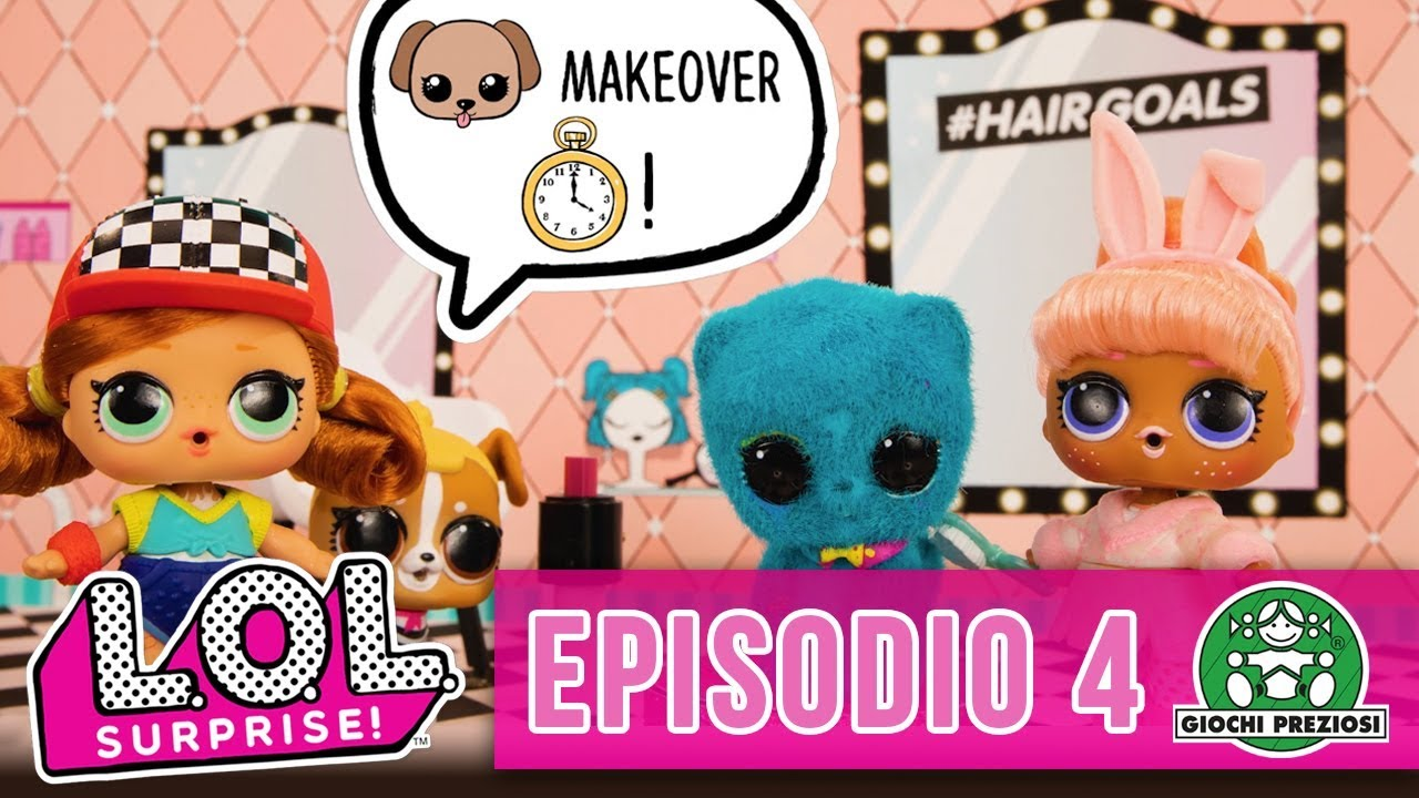Giochi Preziosi | L.O.L. Surprise! Makeover Sinclair e Loki - Episodio 4