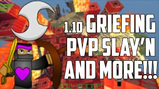 Minecraft - 1.10 Griefing + PvP'n - SkillClient (OptiFine) Minecraft Hacked Client - WiZARD HAX