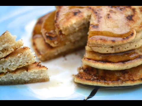 RECIPE: Gluten Free Brown Rice Pancakes (Dairy Free!)