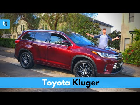Toyota Kluger/Highlander Grand AWD - In-depth Review & Drive