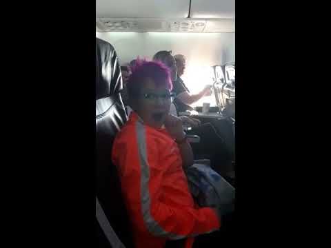 The Woody Show - Adorable or Annoying? Girl Gets Surprise In-Flight Announcement