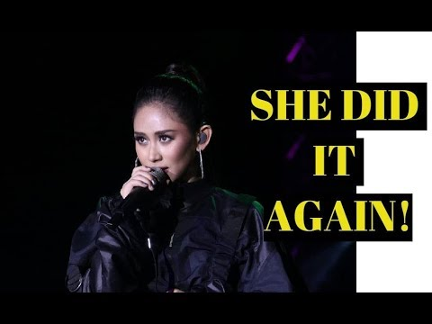Sarah Geronimo SUPERB OPENING at the Lubao International Balloon Music Festival 2018