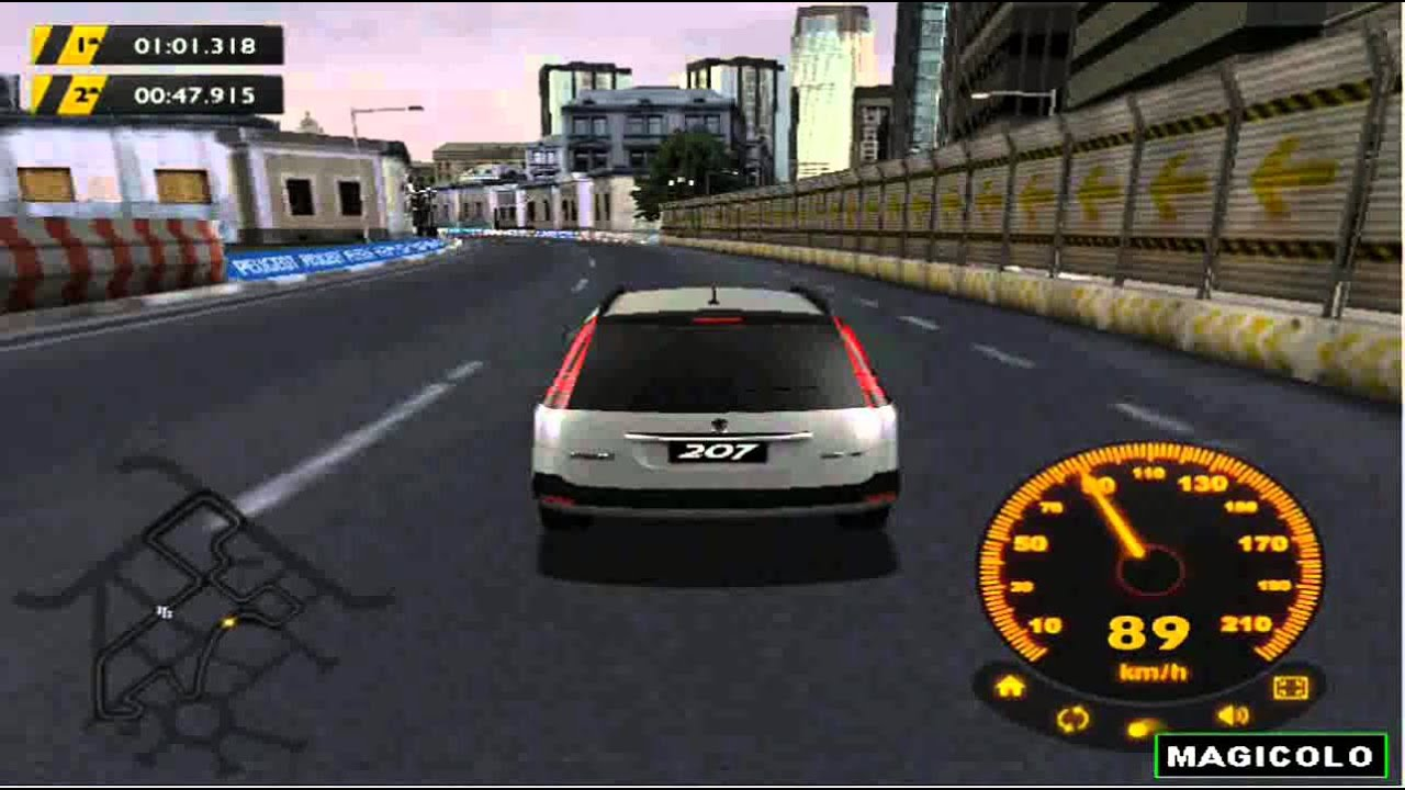 peugeot 207 3d car driving simulator game 2014 youtube. Black Bedroom Furniture Sets. Home Design Ideas