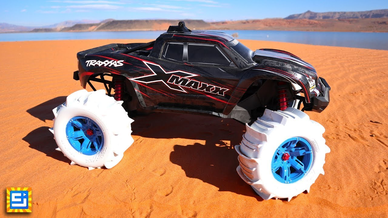 rc car tires drive on water adventure youtube. Black Bedroom Furniture Sets. Home Design Ideas