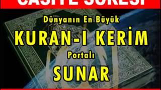 CASİYE Suresi - Kurani Kerim oku dinle video izle - Kuran.gen.tr