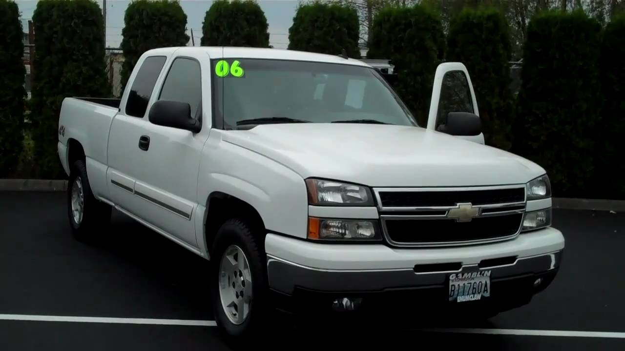 2006 chevrolet silverado 1500 extended cab lt 4x4 white art gamblin motors 10239a youtube. Black Bedroom Furniture Sets. Home Design Ideas