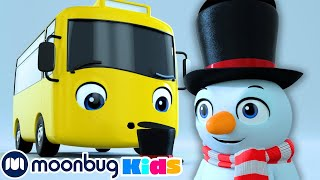 Buster Builds A Snowman + MORE | Go Buster | Stories & Kids Songs | Stories and Fairy Tales for Kids