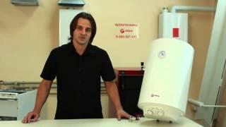 Видео обзор электрический водонагреватель Roda Aqua White 50 80 100 литров