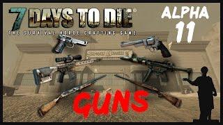 7 Days to Die [Alpha 11] Механика Сборки-Разборки Оружия