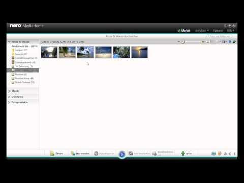 Fotos Und Videos Importieren Mit Nero MediaHome (Ausführliche Anleitung)