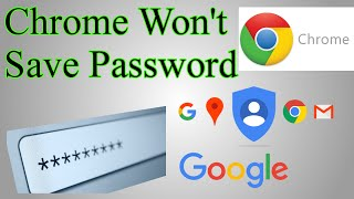 Fix: Chrome not save password (Gmail/Google stay signed in)