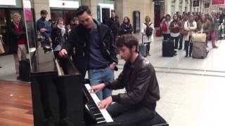 Piano gare st lazare - lettre à Marie