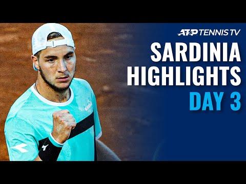 Fritz, Basilashvili & Struff All in Action   Sardinia 2021 Day 3 Highlights