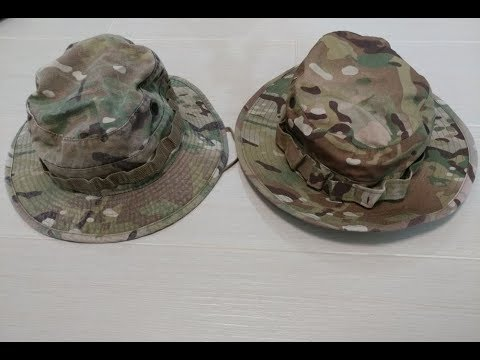 Ep9 - Gear Review  Crye boonie vs Propper boonie hat 47927f812ab