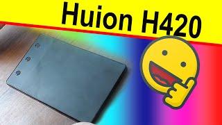 huion H420 отзыв, недорогой графический планшет для рисования