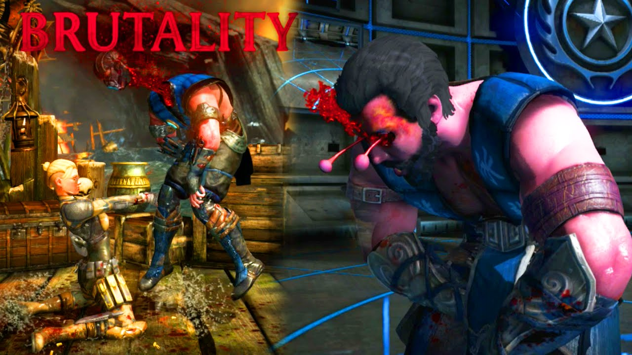 Punched In The Balls Brutality Mortal Kombat X Cassie Cage