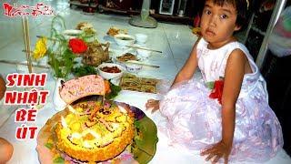 Sinh Nhật Bé Út Nhà Mình Với Bánh Kem Hình Con Rồng Tự Làm | NKGĐ