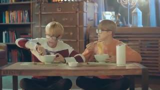 ENG BTS CF   Vmin striks again and jungkook's party time   cute and funny