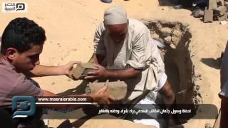 مصر العربية | لحظة وصول جثمان الكاتب الصحفي براء شرف ودفنه بالمقابر
