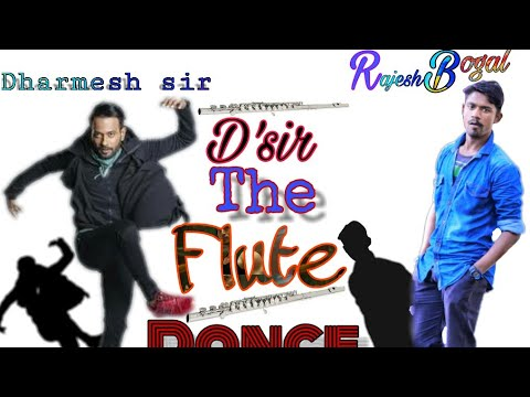 Dharmesh sir flute song | Dance video by Tigeran Rajesh Bogal