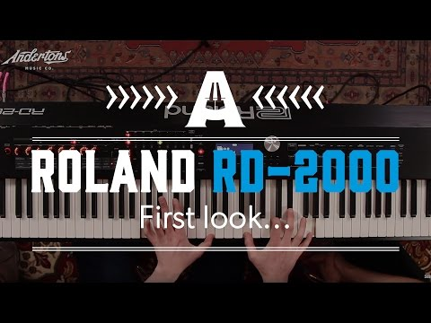 Roland RD-2000 First Look