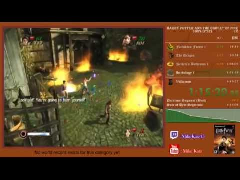Harry Potter and the Goblet of Fire 100% Speedrun 4:12:15 [PS2 WR]