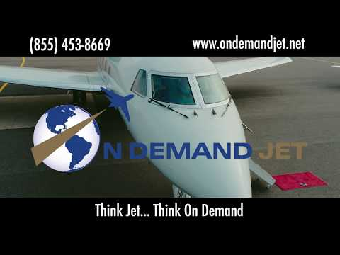 On Demand Jet Private Charter Broker