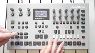 Elektron Analog Four MKII All Factory Patterns with Factory Sound Presets Patches