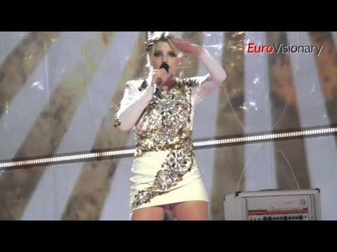 Eurovision 2014: Italy - Emma - La Mia Citta - Second Rehearsal
