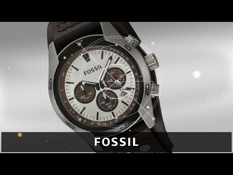 Fossil Men's, Stainless Steel Watch, With Brown Leather Band | Men's Watches 2019