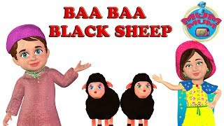 Baba Black Sheep Poem with Lyrics | Popular Nursery Rhymes for Babies, Kids, Children | Mum Mum TV