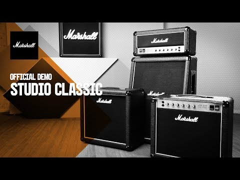 Studio Classic | Official Demo | Marshall