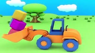 Развивающий мультфильм для малышей - Веселый конструктор - 1 серия