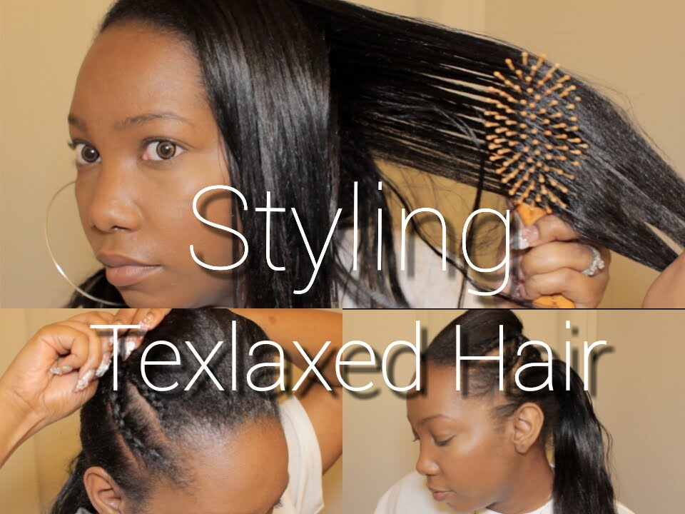 youtube hair styling videos styling texlaxed hair a something different 6717 | maxresdefault