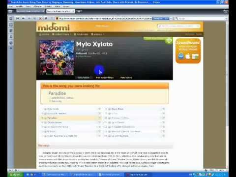 midomi music search - the best way to find song names