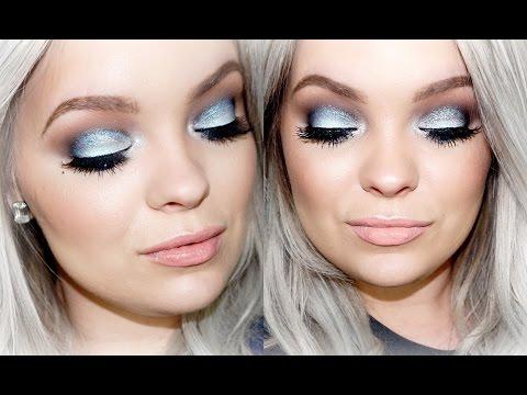 Icy Blue Smokey Eyes - Makeup Tutorial | Brianna Fox
