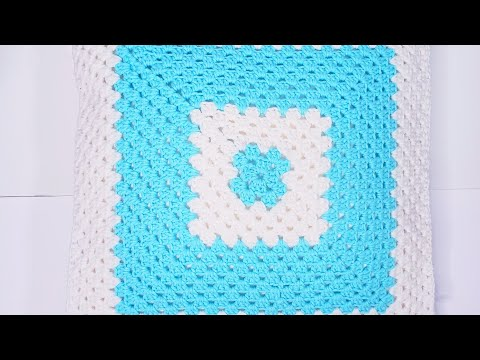 Как связать крючком подушку для начинающих видео уроки