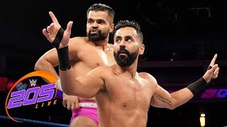 The Singh Brothers vs. Dos Locals: WWE 205 Live, June 11, 2019
