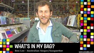 Ben Lee - Whats In My Bag? YouTube Videos