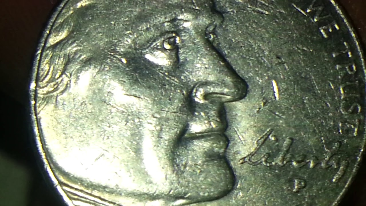 2005 P Buffalo Nickel Cud Mint Error Obverse Youtube